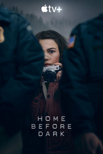 20 best tv show poster designs of 2020, Kettle Fire Creative blog, Home before dark, best photographic mood poster design 20 Best TV Show Poster Designs of 2020 home before dark