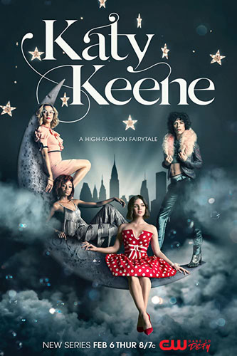20 best tv show poster designs of 2020, Kettle Fire Creative blog, Katy Keene, most whimsical design