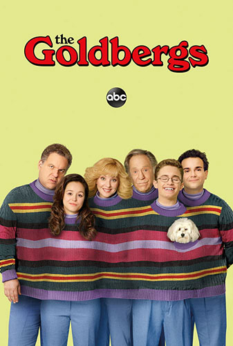 20 best tv show poster designs of 2020, Kettle Fire Creative blog, The Goldbergs, best cast photo poster design 20 Best TV Show Poster Designs of 2020 the goldbergs