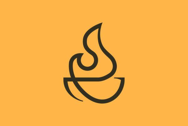 Fire Pit logo designed by Kettle Fire Creative branding Kettle Fire Creative – Branding + Web Design Colorado Springs fire pit logo fi 600x403