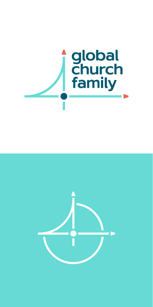 Global Church Family brand identity and guidelines design by Kettle Fire Creative.